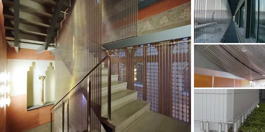 wall cladding decorative mesh style no7 - Decorative Mesh